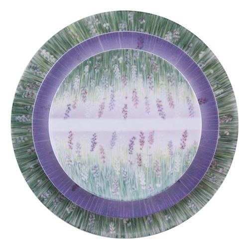 Lalala Stacked  beautiful #Lavender , 27.5cm Lalala Vert #Dinnerplate, under 22.5cm Lalala Lavande #dessertplate under 17.5cm Lalala Miroir #sideplate #handpainted and made from the finest #Jingdezhen #porcelain #diningware  by Spherebol