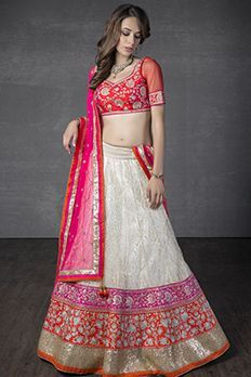 Love the Lucknowi Ghagra from BenzerWorld!