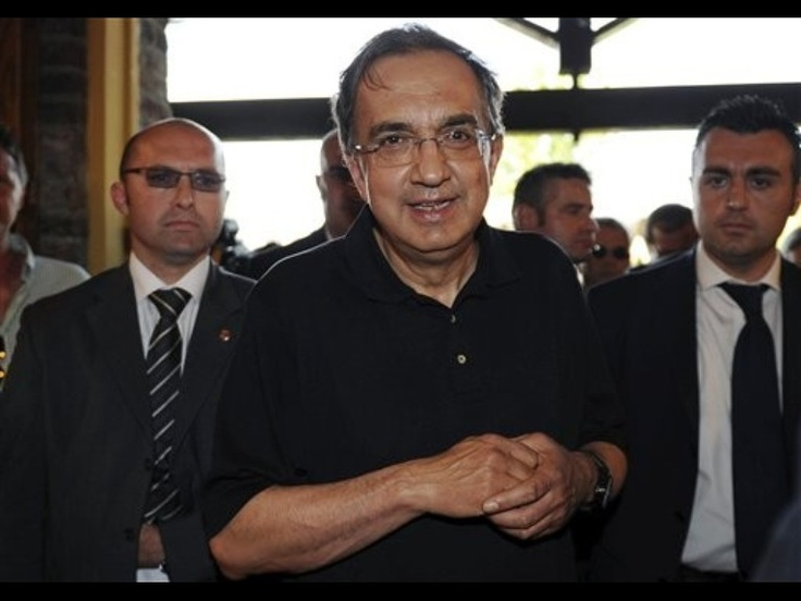 """Sergio Marchionne arrives for a new Fiat car launch in Gavi, Italy, Tuesday, June 14, 2011. Fiat and Chrysler CEO Sergio Marchionne said Tuesday that he is not in talks to buy the Chrysler stake held by a trust for retired autoworkers. Marchionne told reporters on the sidelines of a new Fiat car launch that the """"easiest route"""" for the trust to convert its stake into cash is when Chrysler goes public. He said that the IPO would not be in 2011 because """"the market is not there. """" """"The easiest…"""