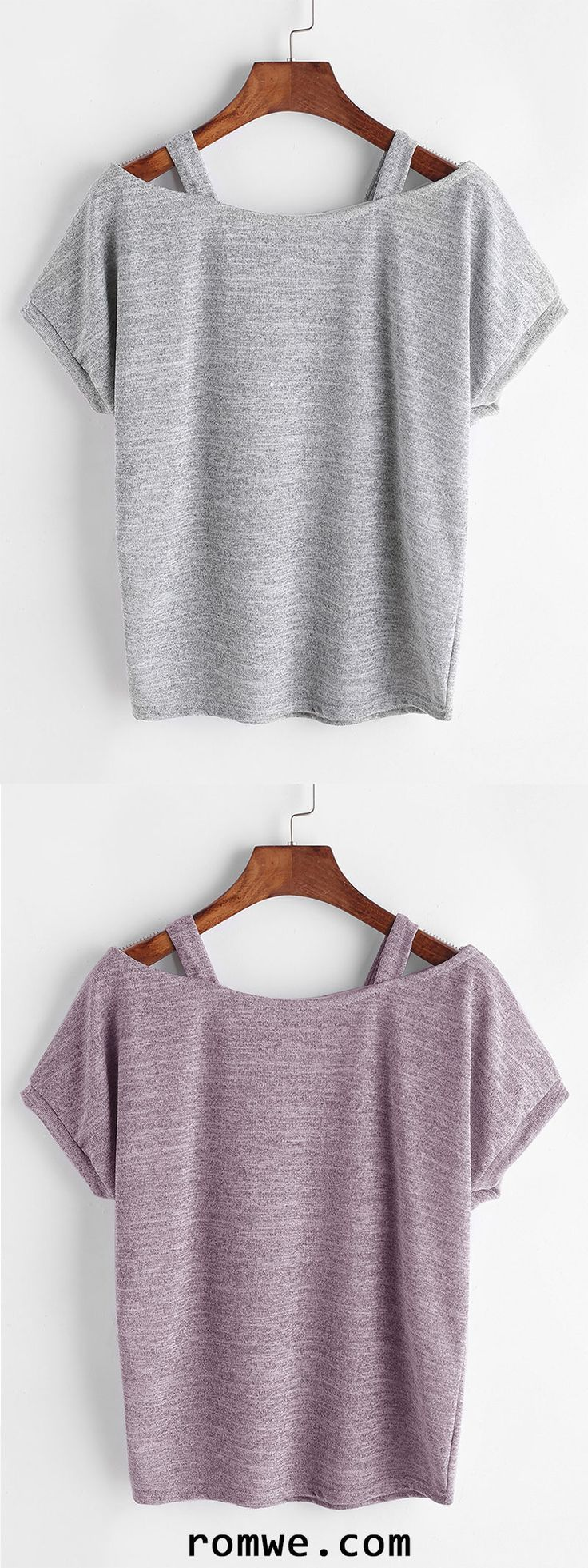 Cut Out Tighter Sleeve T-shirt