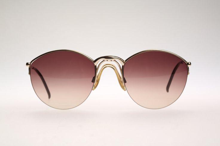 Porsche Design By Carrera 5670 / Vintage sunglasses / NOS /  80's aviator eyewear by CarettaVintage on Etsy