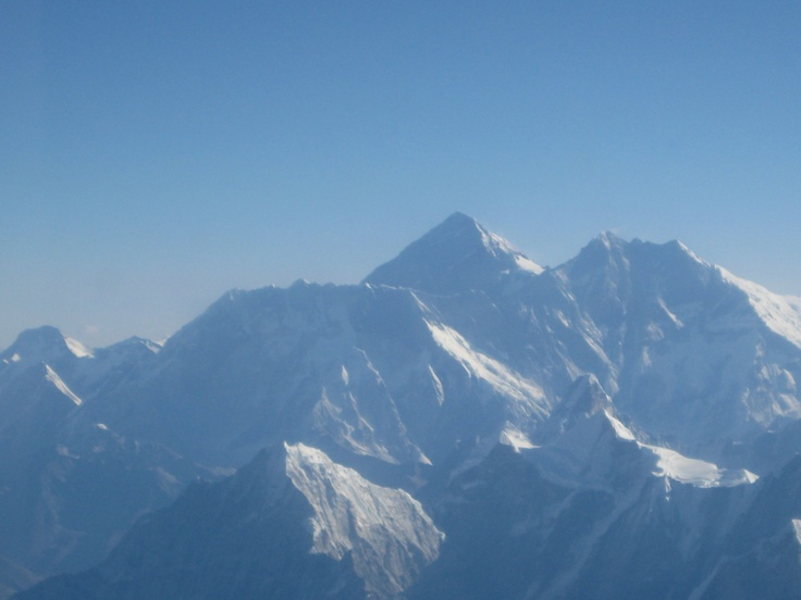 Himalayas from the plane