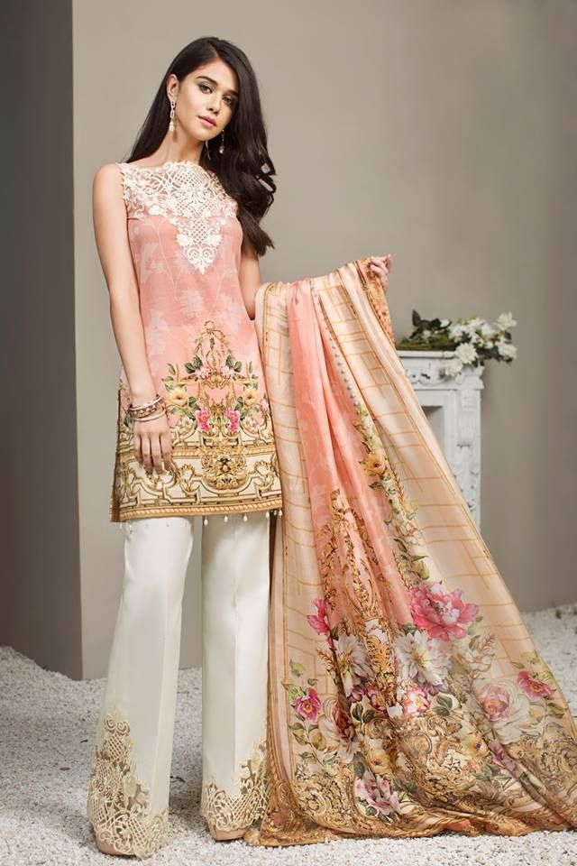 9a9c4da06f Anaya Luxury Summer Lawn Collection 2018 | Suits in 2019 | Dresses ...