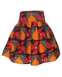 Put a bright African patterned skirt with a corporate jacket