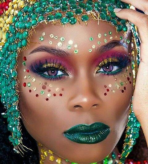 37 best Caribana makeup ideas images on Pinterest
