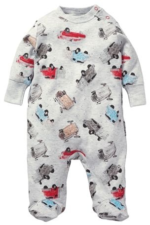 Car Sleepsuit (0mths-2yrs) from the Next UK online shop