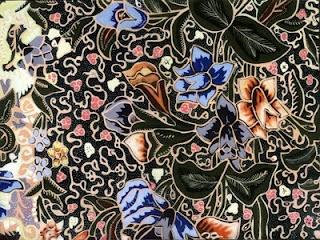 Batik Pekalongan. A lot of flowers.