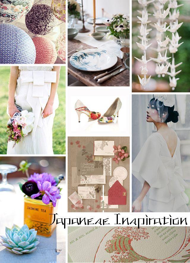 Unique Wedding Ideas: Japanese Influenced Wedding Style, Inspiration + Ideas
