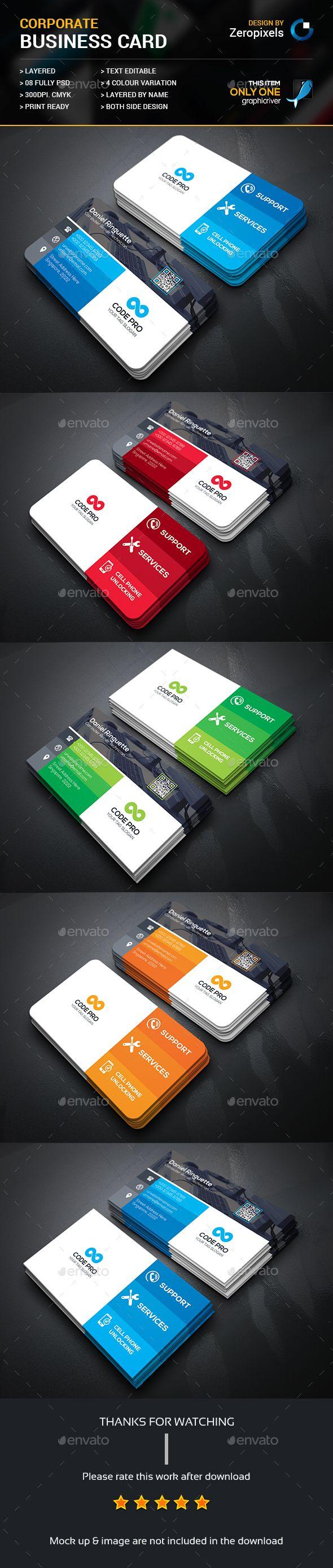 198 best Business Cards images on Pinterest | Business card design ...