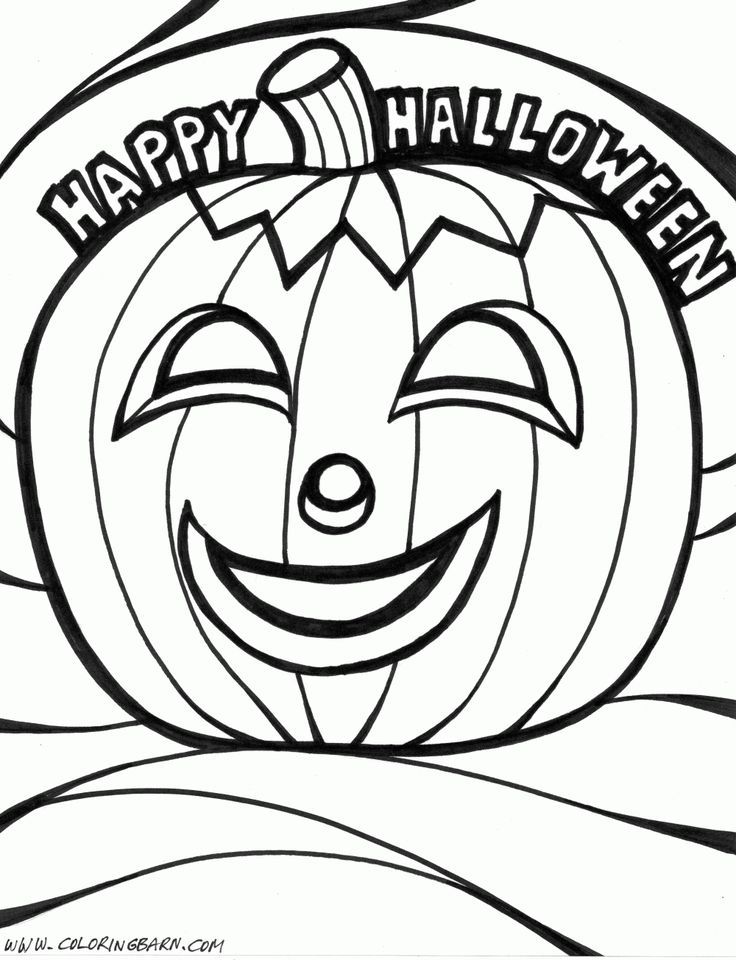 Disney Halloween Coloring Pages