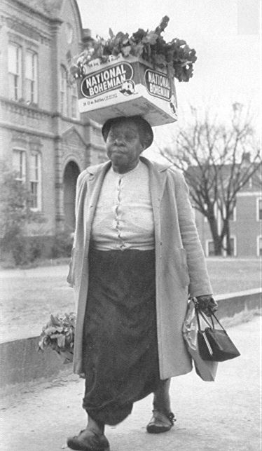 While most people remember Rosa Parks and Martin Luther King, they forget that the Montgomery Bus Boycott succeeded because of the participation of tens of thousands of ordinary people.  These women and men risked their lives and jobs to keep the boycott alive.  Many, like this woman, walked instead of riding the segregated buses.