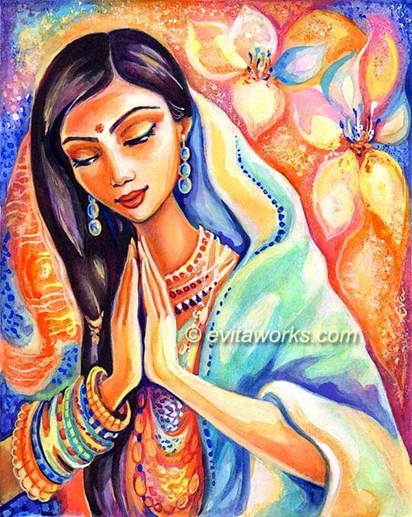 Открытки индианки, смыслом жизни