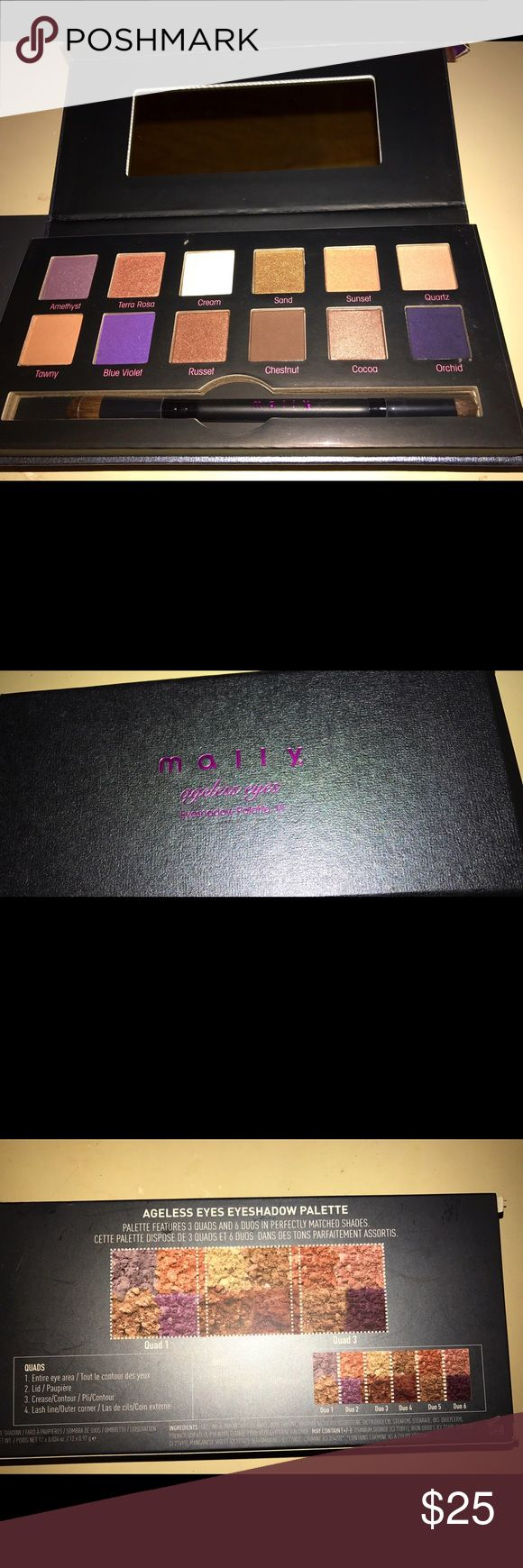 Beautiful palette! (BRAND NEW) MALLY COSMETICS! This is a BRAND NEW MALLY COSMETICS palette! It has such beautiful colors unfortunately I have 2 of them so I would love for someone else to have this one! Mally Makeup Eyeshadow