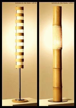 LAMPARA BAMBU