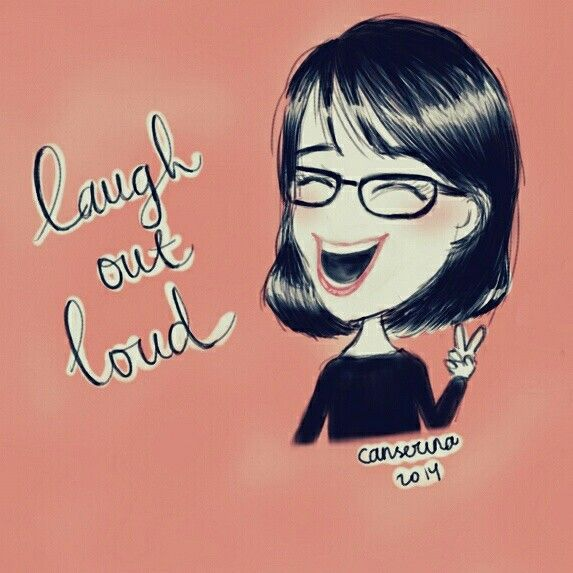 Just laugh out loud!! #illustration #art #doodle #drawing #sketch