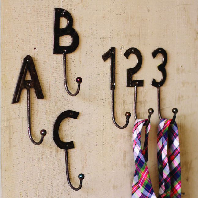 pin by york zoo how may i help you on farmhouse bathroom With metal letters with hooks