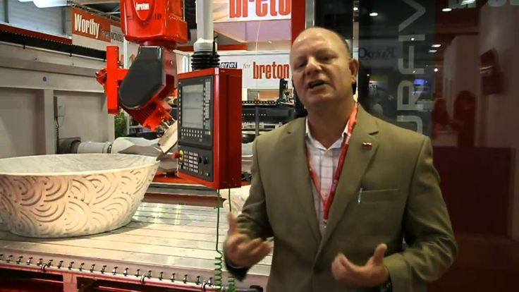 VIDEO #Breton Contourfive NC1200 - Shaping, contouring, sawing and turning CNC ...