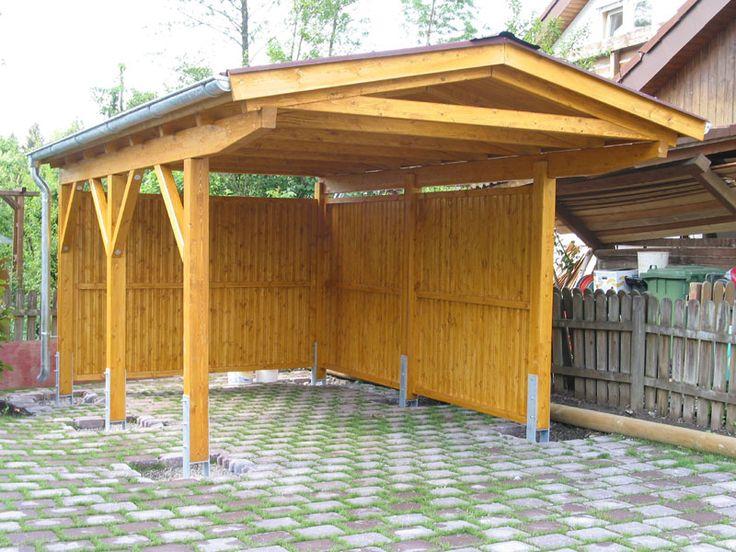carport Carports, Holzunterstand, Carport