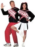 """Asked my husband if we could get these for halloween.  His response, """"If we do, we'll have to learn the perfect cheer..."""" LOL"""