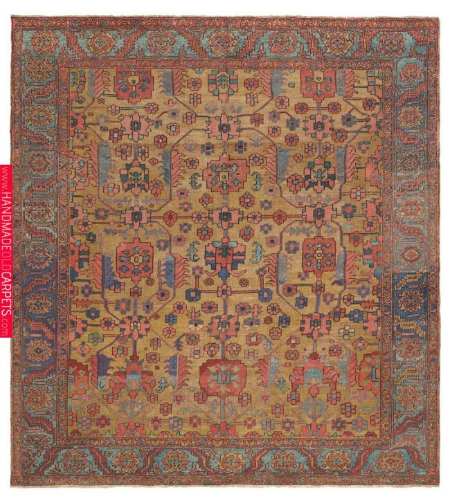 This Is A Quite Unexpected One Of A Kind Persian Carpet That Reveals The Continual Reinvention Of Simple Unaffected Motifs That Is Deepl Claremon Persian Carpet Rugs On Carpet Carpet