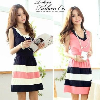 Cheap Dresses on Sale at Bargain Price, Buy Quality dress shipping, chiffon sleeve dress, chiffon top from China dress shipping Suppliers at Aliexpress.com:1,Silhouette:A-Line 2,Sleeve Length:Sleeveless 3,Model Number:aa 4,Sleeve Style:Tank 5,Pattern Type:Striped
