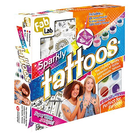 Buy FabLab Sparkle Tattoos Kit Online at johnlewis.com