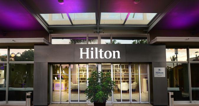 Hilton Noumea La Promenade Residences - enterance