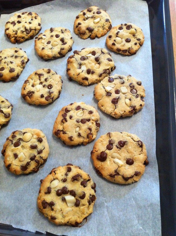 Cookies bio moelleux sans gluten et sans produits laitiers