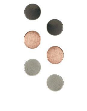 Oasis Button Earrings