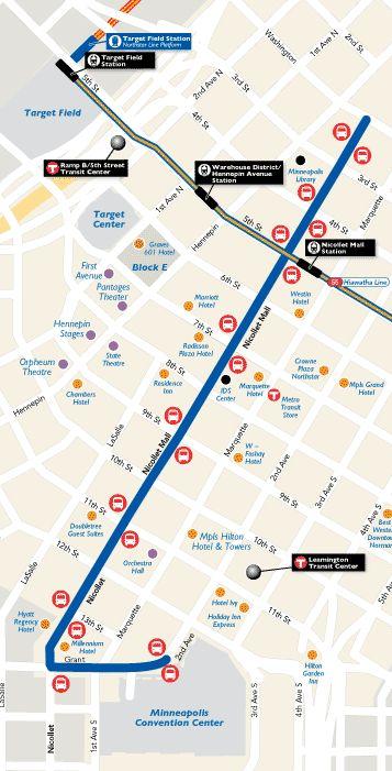 Light Rail & Bus Schedule | Map & Transportation | Minneapolis Light Rail