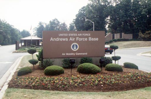 Andrews AFB - (lived here)