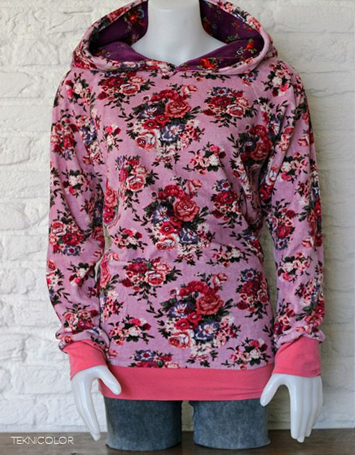 Lovely psychedelic hoodie made by Teknicolor