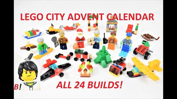 Lego City 2017 Advent Calendar 60155: Building All 24 Surprise Gifts!
