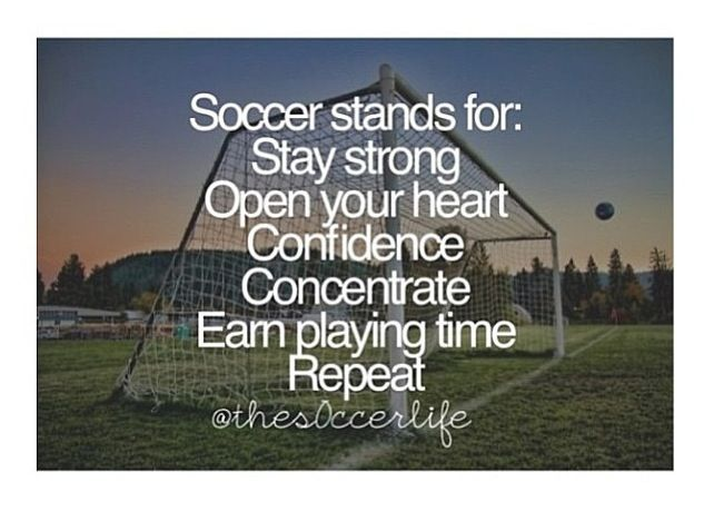 What Soccer Stands For! #Soccer #PlaySoccer #Football                                                                                                                                                                                 More