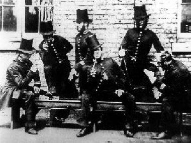 Robert Peel's Act was passed, to establish a new police force in London and its suburbs, on this day 19th June, 1829. They were known as Peelers and then Bobbies, derived from his surname and Christian name respectively
