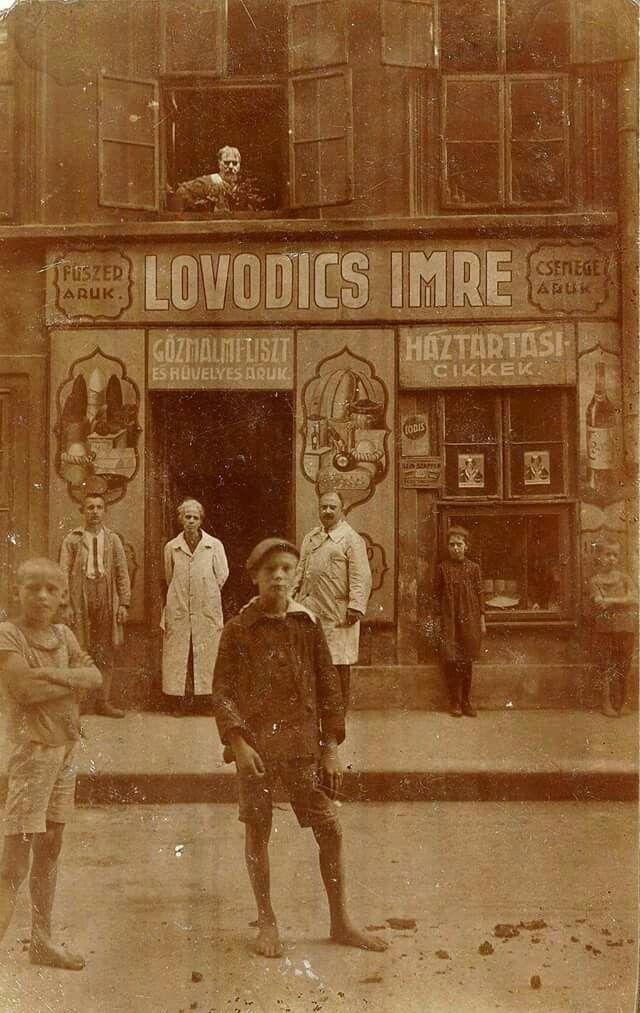 1920 körül. Hársfa utca.