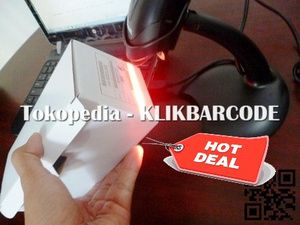 BARCODE SCANNER TERLARIS ARGOX AS 8000 ( AUTO SCAN )