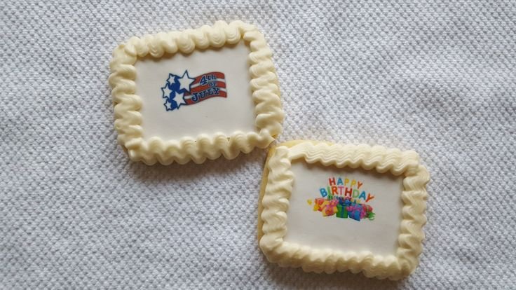 Image Cookies - Rolled Sugar Cookie with edible icing image (one dozen)