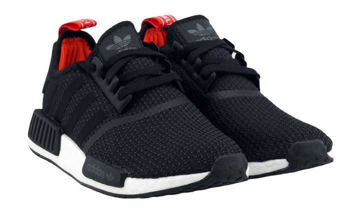 huge selection of 1e1e8 0ea7b adidas Originals NMD R1 Unisex Athletic Shoes Black Sneakers ...