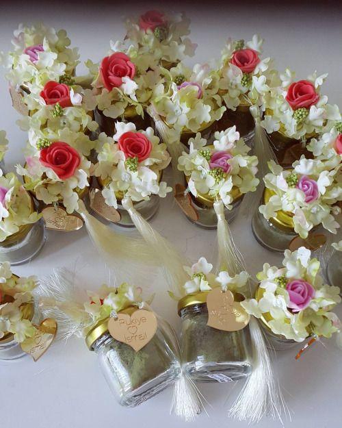 Rukiye hanımın kına hediyelikleri  İçerisinde kına... #wedding #weddings