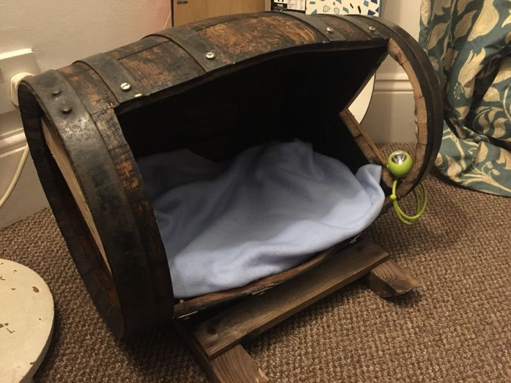 It's a puppy barrel!