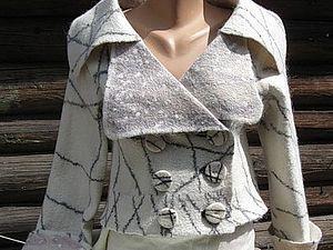Метод изготовления условно-цельноваляной одежды сложного покроя | Ярмарка Мастеров - ручная работа, handmade