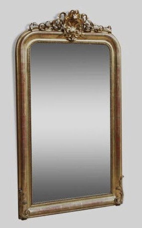 miroir ancien de style louis philippe