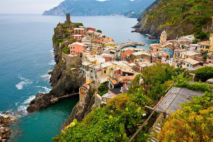 The Cinque Terre - the perfect backdrop for rustic Italian-style weddings
