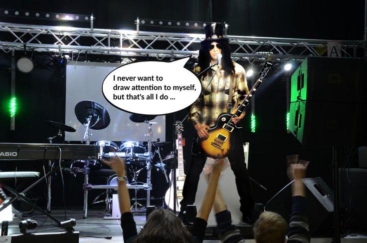Slash na naszej scenie...  podobno ma pozostać tu na dłużej ...