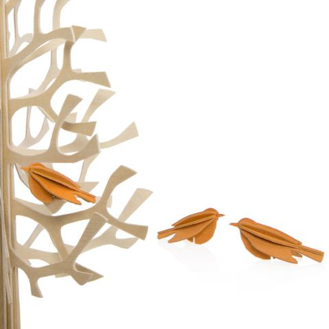 OCELLETS   heura-bcn.com   De fusta, es munten fàcilment sense cola.   Pajaritos de madera que se montan fácilmente, sin cola. + info en el enlace!