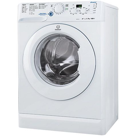 Buy Indesit XWD71452W Freestanding Washing Machine, 7kg Load, A++ Energy Rating, 1400rpm Spin, White Online at johnlewis.com