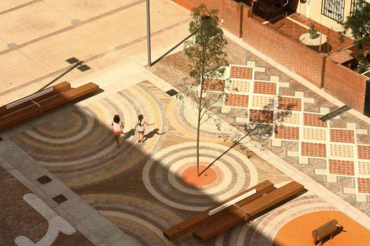 Urbanización de la Plaza Penedès. Domingoferré arquitectes
