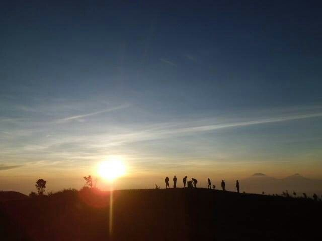 Sunrise at Mt.Prau, Dieng, Central Java, Indonesia
