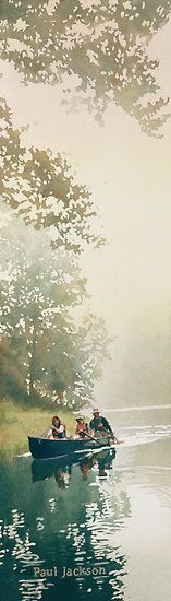 """""Float Trip"" Watercolor"" by Paul Jackson | Redbubble"